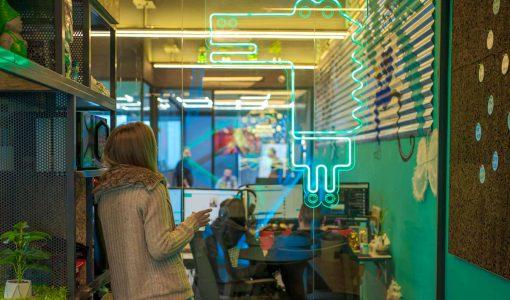 תמונת אווירה במשרד דיגיטל